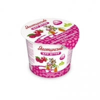 Raspberry and Red Currant Cottage Cheese Paste 4,2% fat