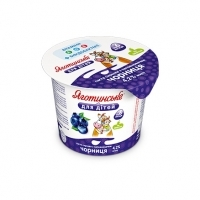 Blueberry Cottage Cheese Paste 4,2% fat
