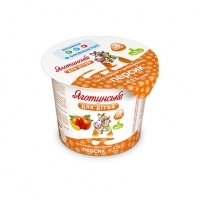 Peach Cottage Cheese Paste 4,2% fat