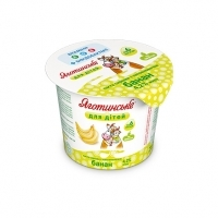 Banana Cottage Cheese Paste 4,2% fat