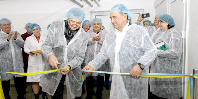 Zolotonosha Butter-Making Combine opened the updated butter shop